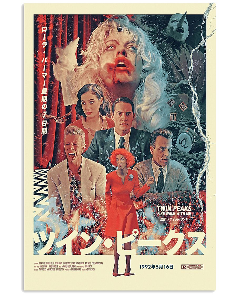 tv show twin peaks poster 1