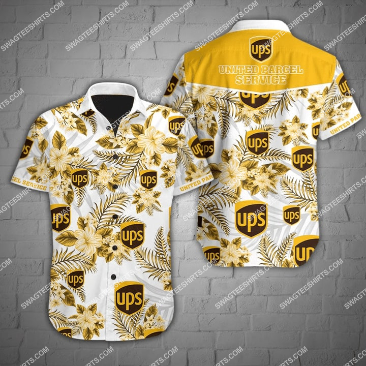 united parcel service full printing hawaiian shirt 2(1) - Copy