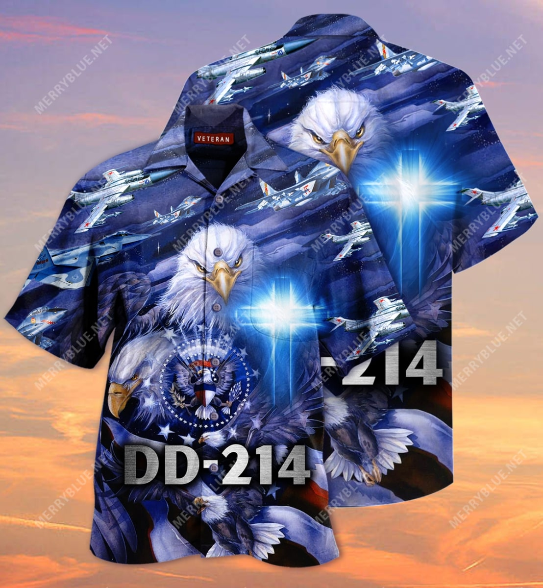 united state veteran on the sky all over printed hawaiian shirt 3