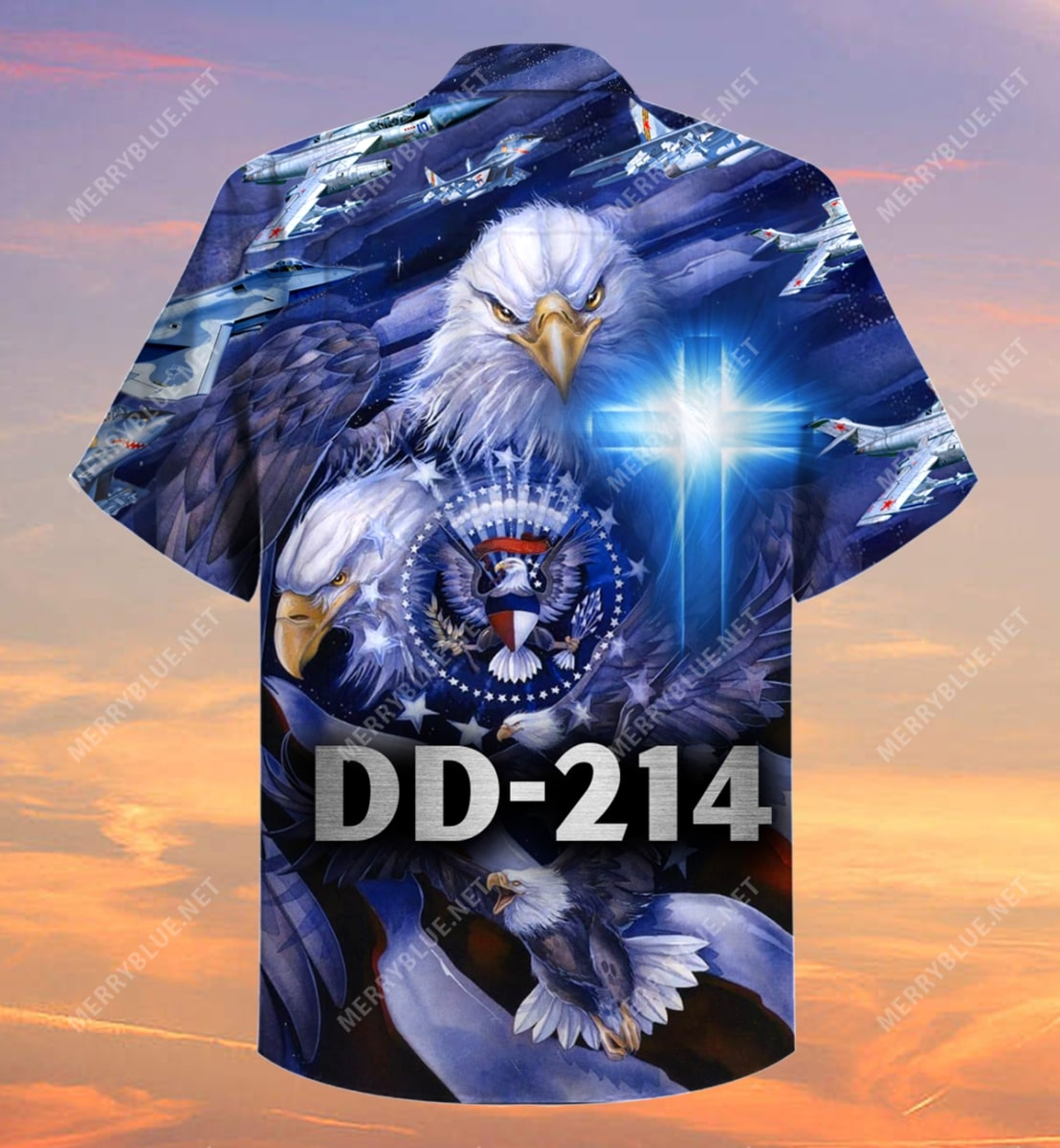 united state veteran on the sky all over printed hawaiian shirt 5
