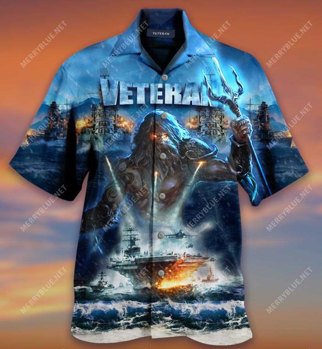 united state veterans on the ocean all over printed hawaiian shirt 4