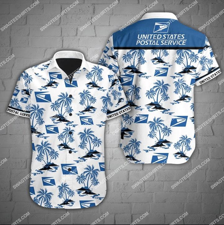 united states postal service full printing hawaiian shirt 2(1) - Copy