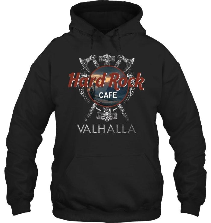 valhalla viking hard rock cafe hoodie