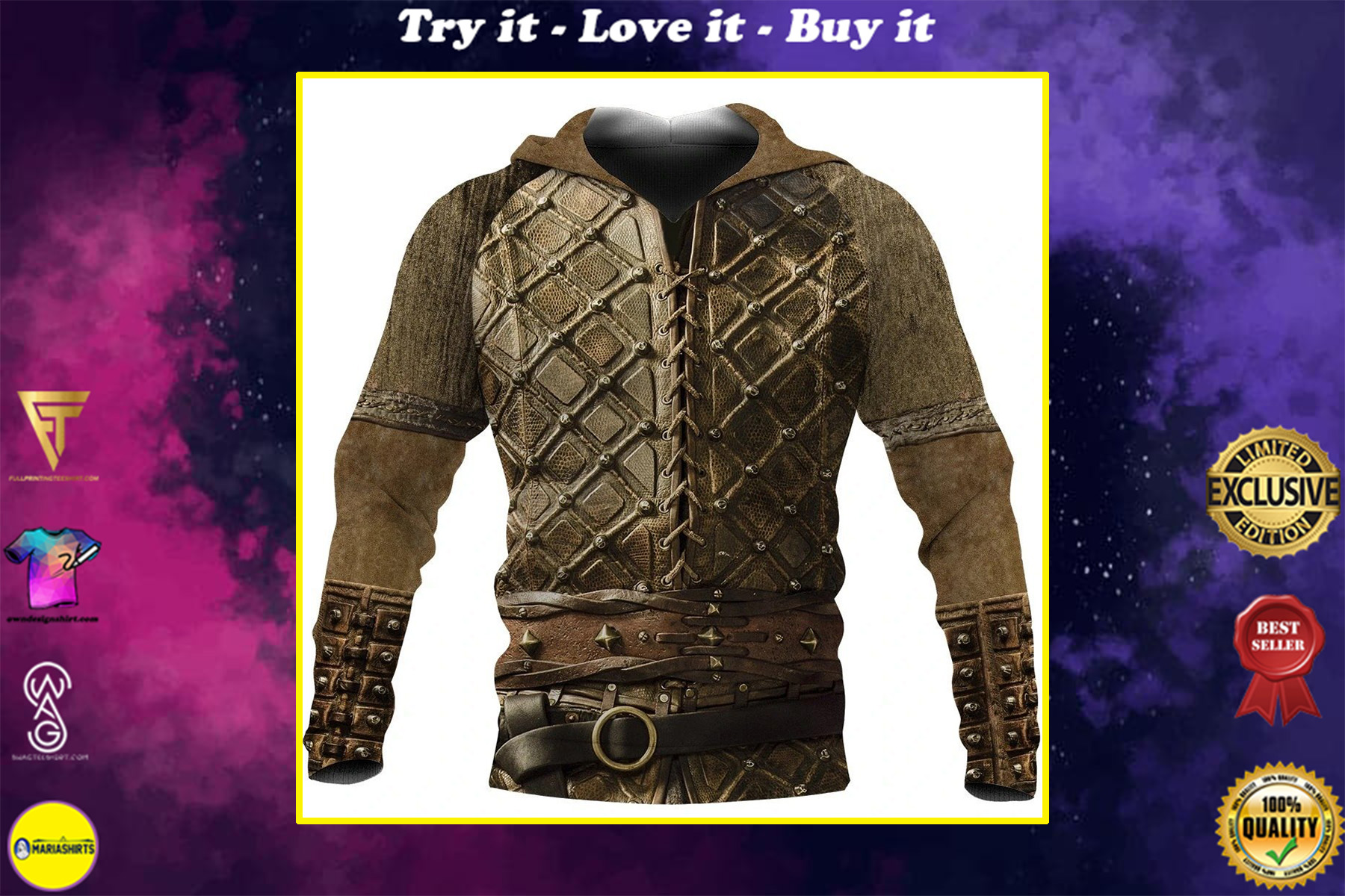 vikings ubbe lothbrok all over printed shirt