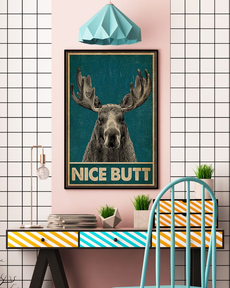 vintage nice butt moose poster 4