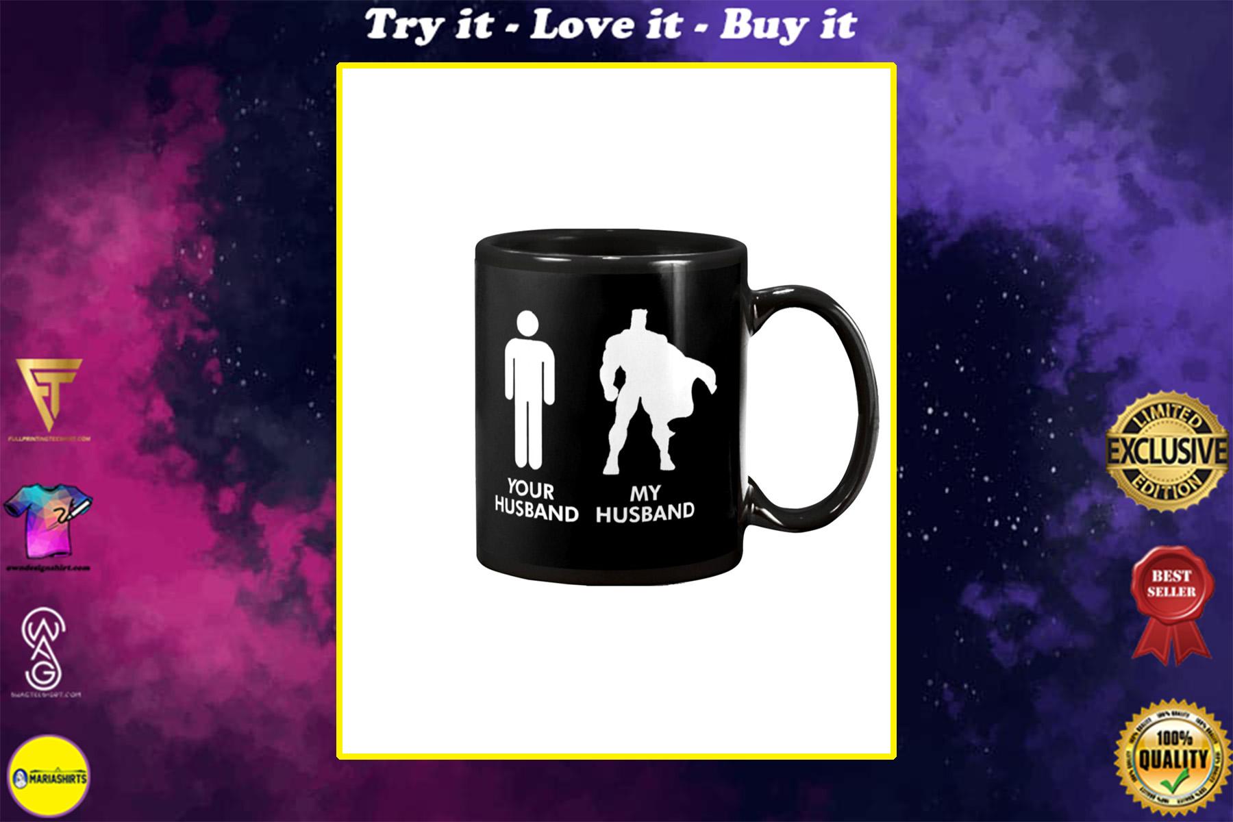 your husband my husband happy valentine's day mug