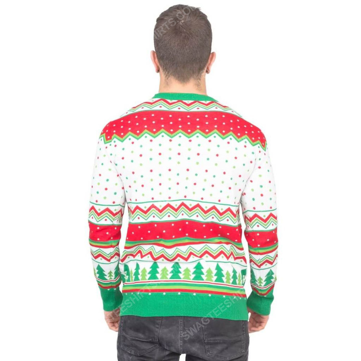 Baby it's covid outside full print ugly christmas sweater 5
