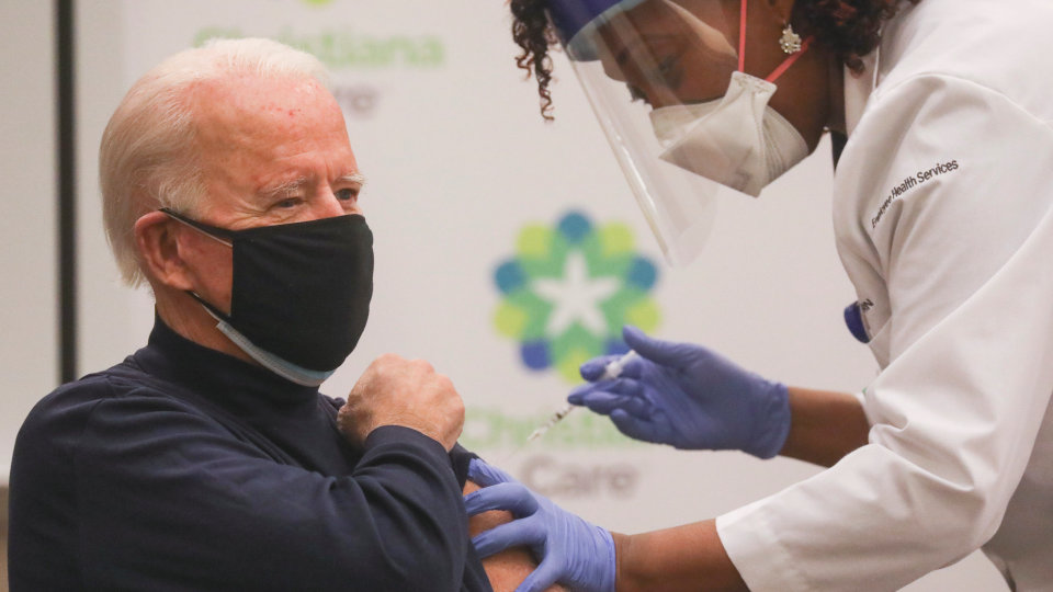 Biden claims that health officials are looking at whether or not Covid vaccine boosters should be recommended after fewer than 8 months.
