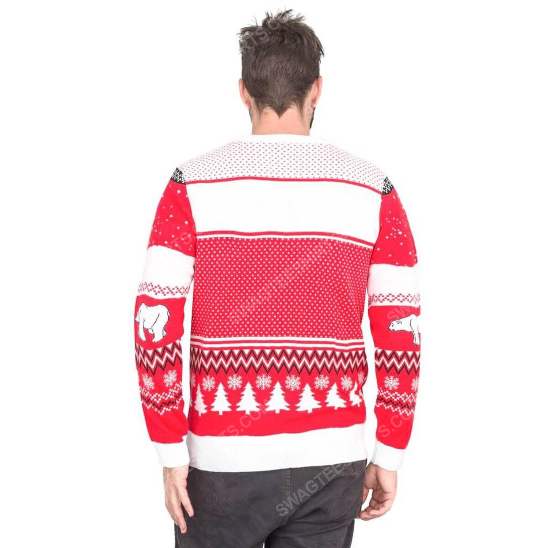 Coca-cola polar bear coke full print ugly christmas sweater 4