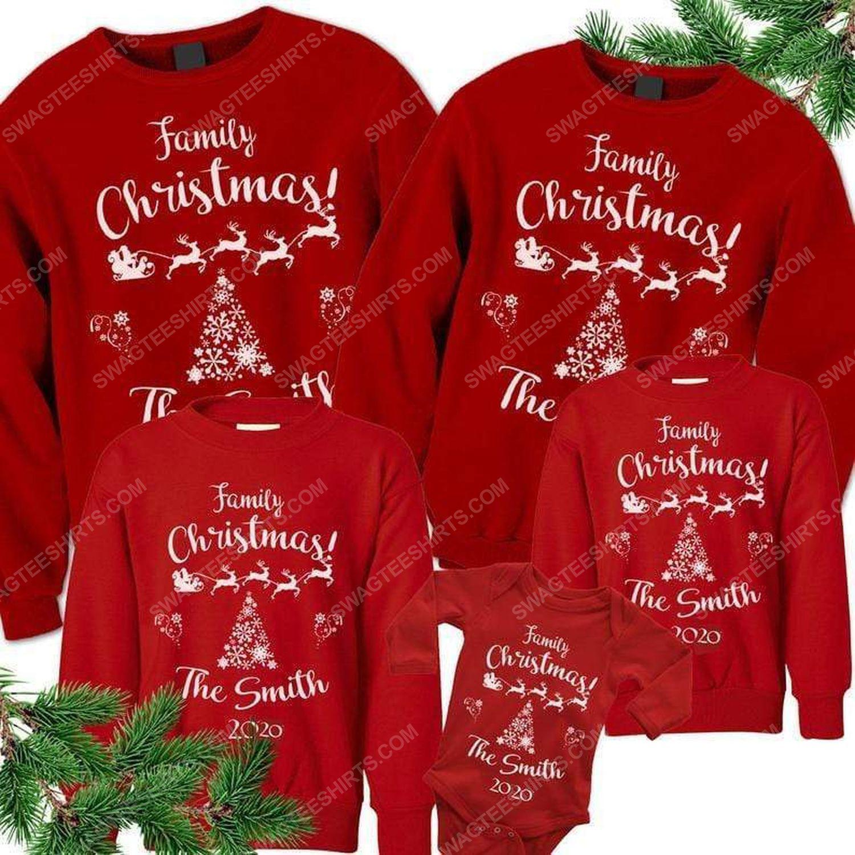 Custom for family christmas ugly christmas sweater 2 - Copy