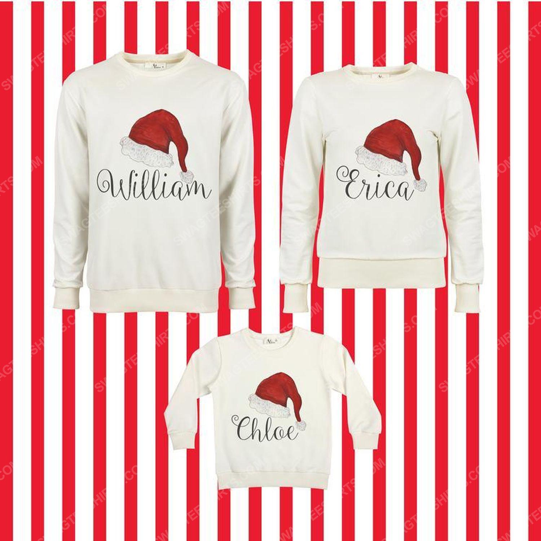 Custom for family merry christmas ugly christmas sweater 2 - Copy