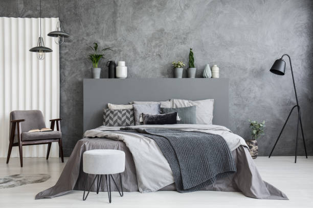 Decorating Ideas for a Gray and Neutral Bedroom