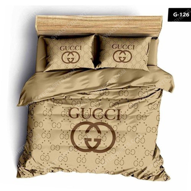 Gucci full print duvet cover bedding set 3 - Copy