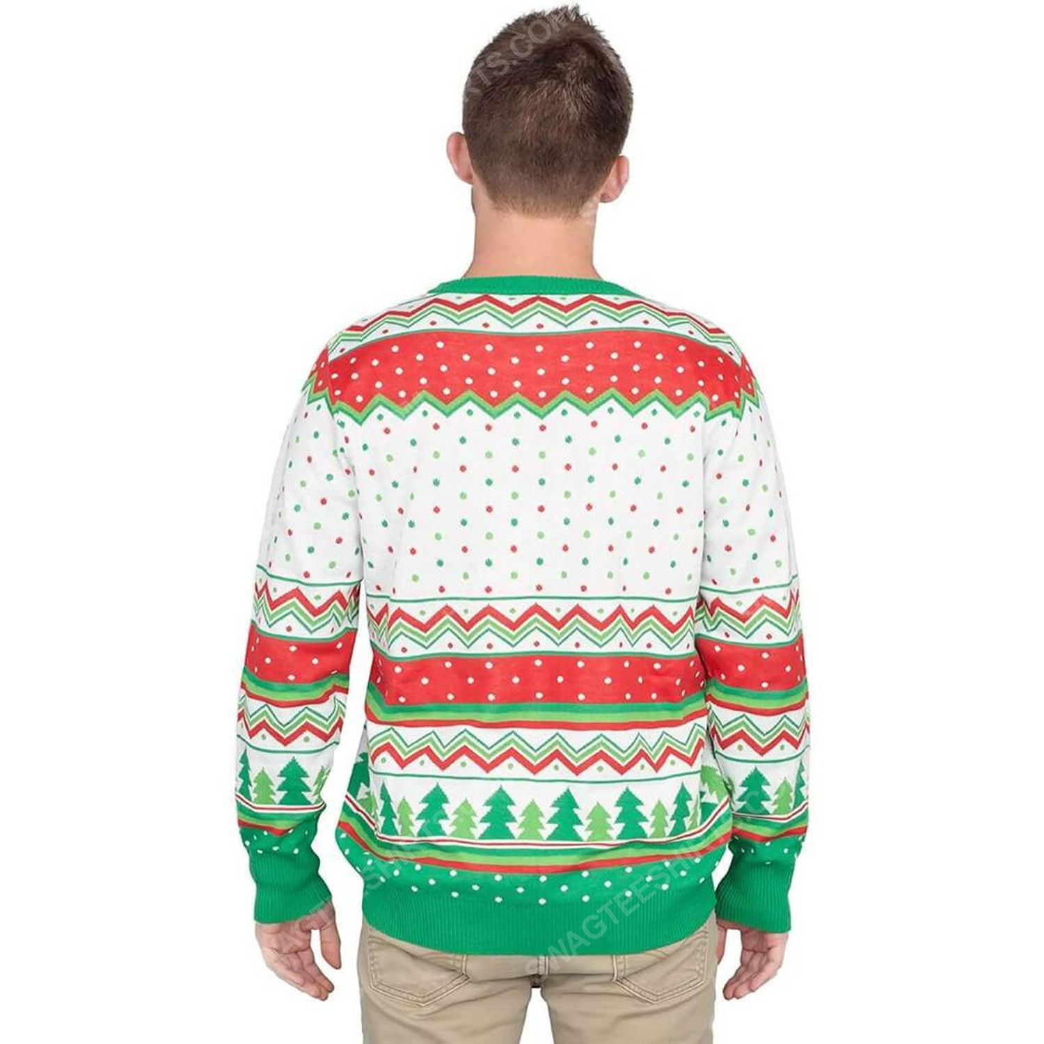 I don't know margo full print ugly christmas sweater 4