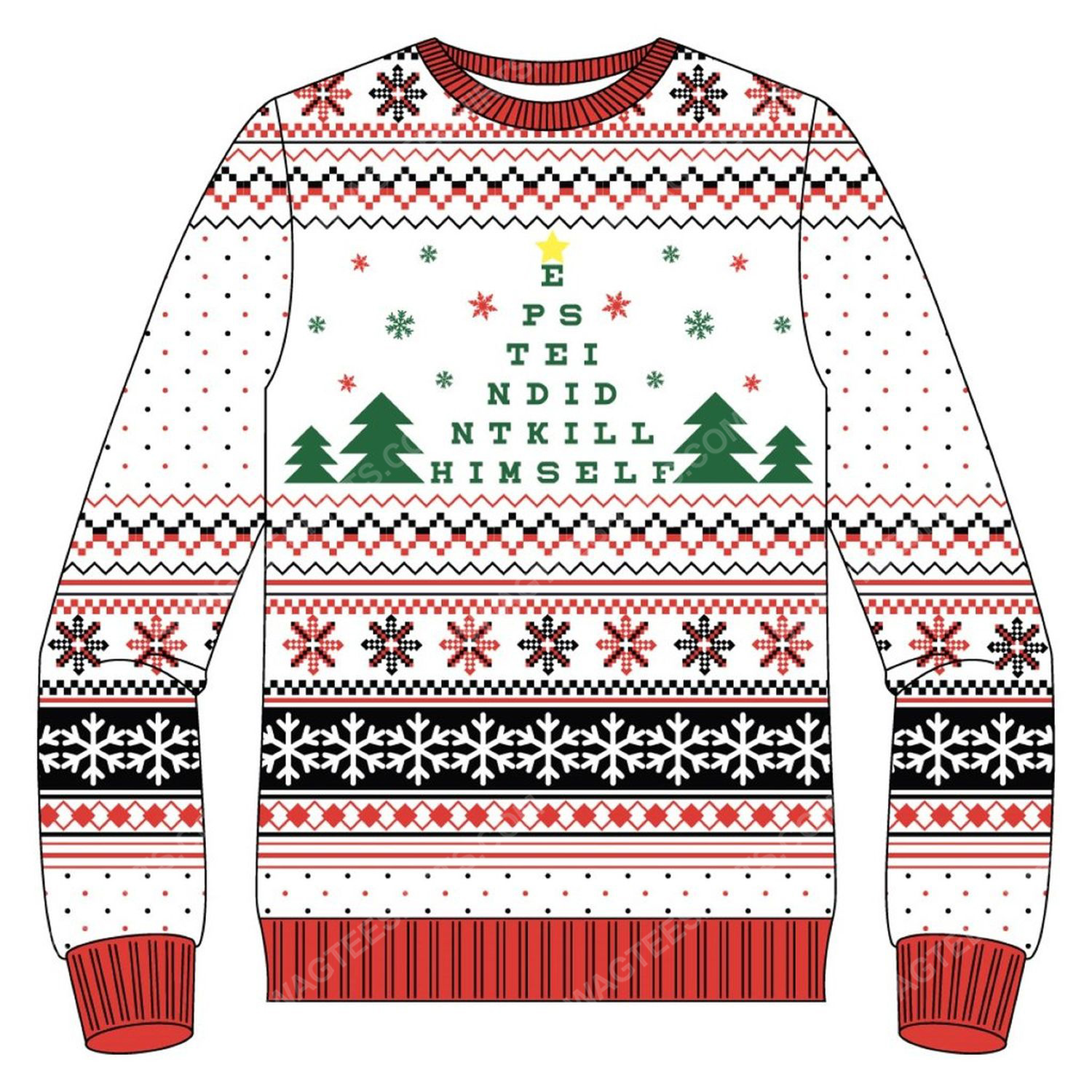 It's beginning to look a lot like epstein didn't kill himself ugly christmas sweater 3