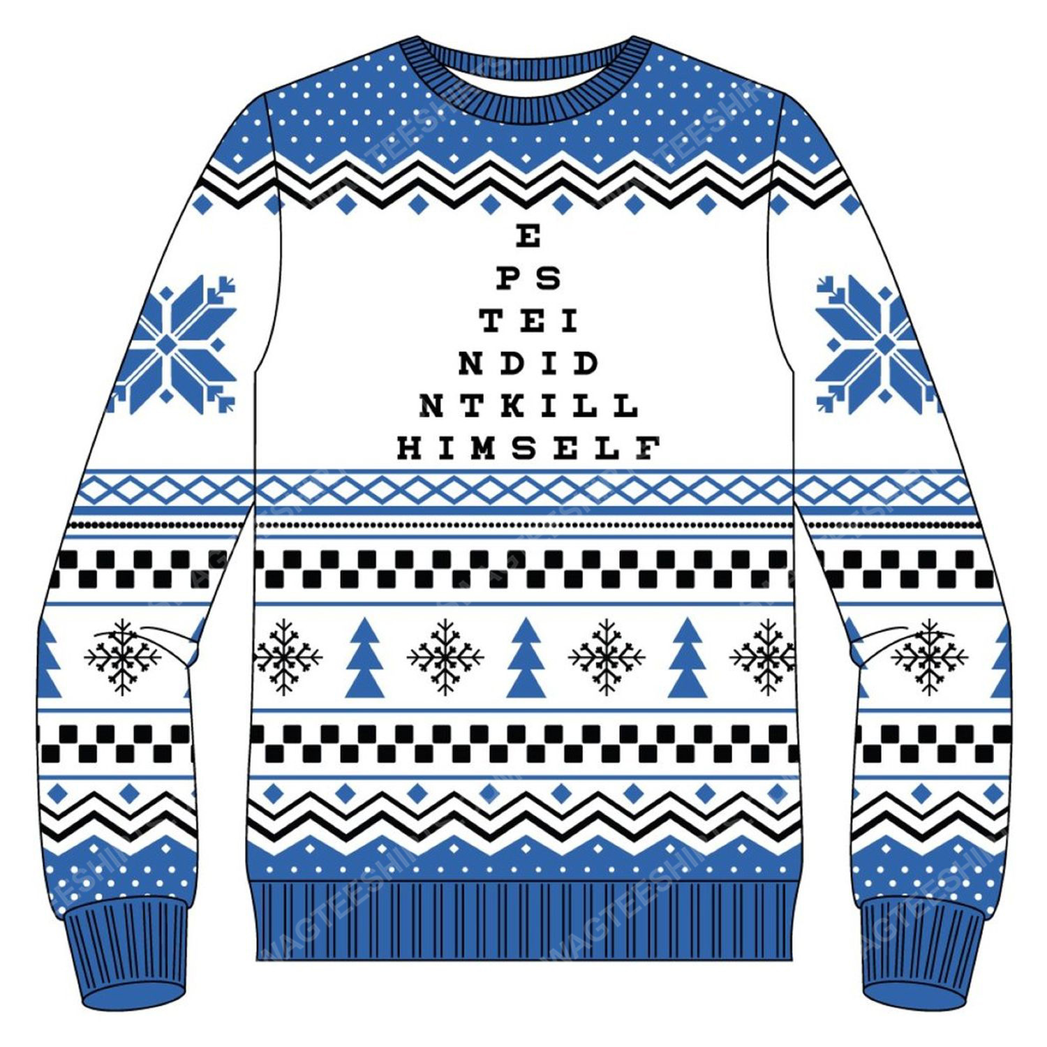 It's beginning to look a lot like epstein didn't kill himself ugly christmas sweater 5
