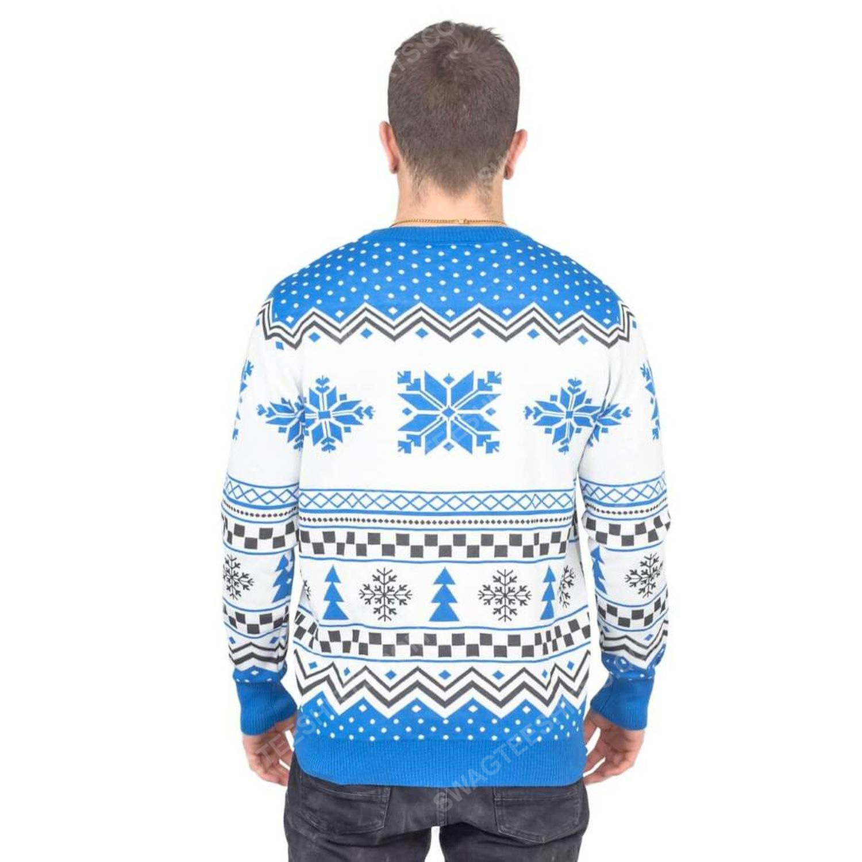 Lets get lit hanukkah full print ugly christmas sweater 4