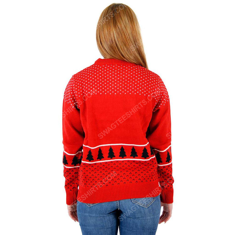 Merry fucking christmas ugly christmas sweater 3