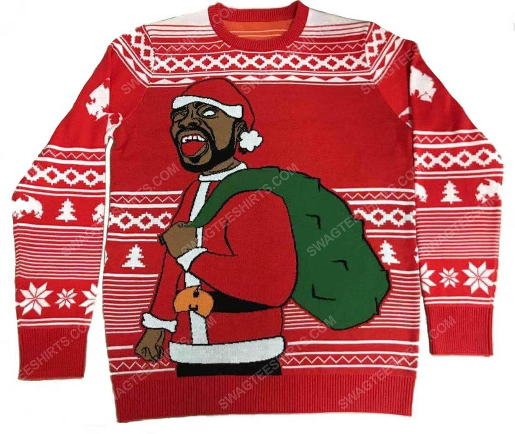 Method man and redman full print ugly christmas sweater 3