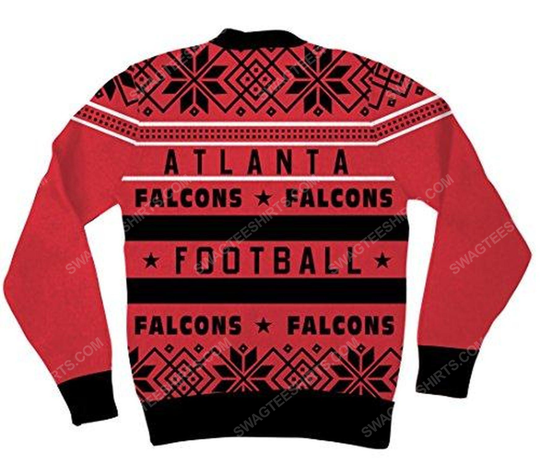 NFL atlanta falcons full print ugly christmas sweater 3