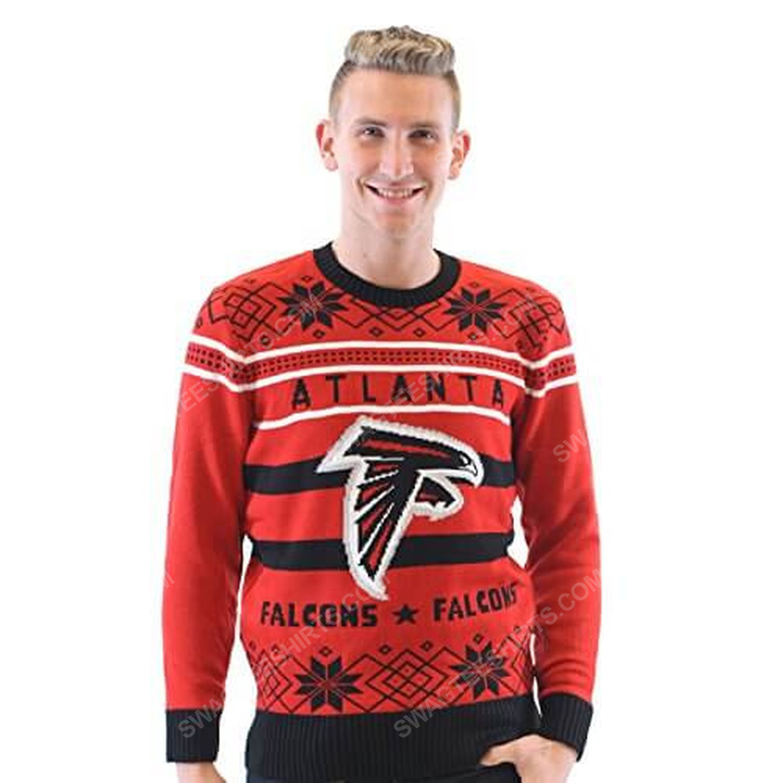 NFL atlanta falcons full print ugly christmas sweater 4