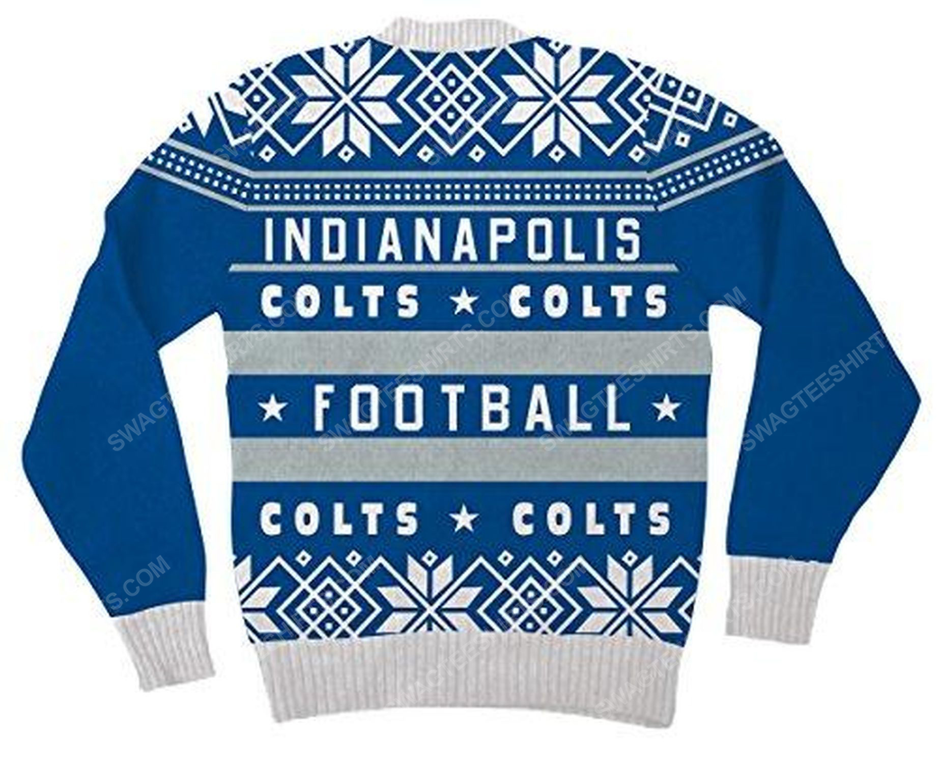 NFL indianapolis colts full print ugly christmas sweater 3
