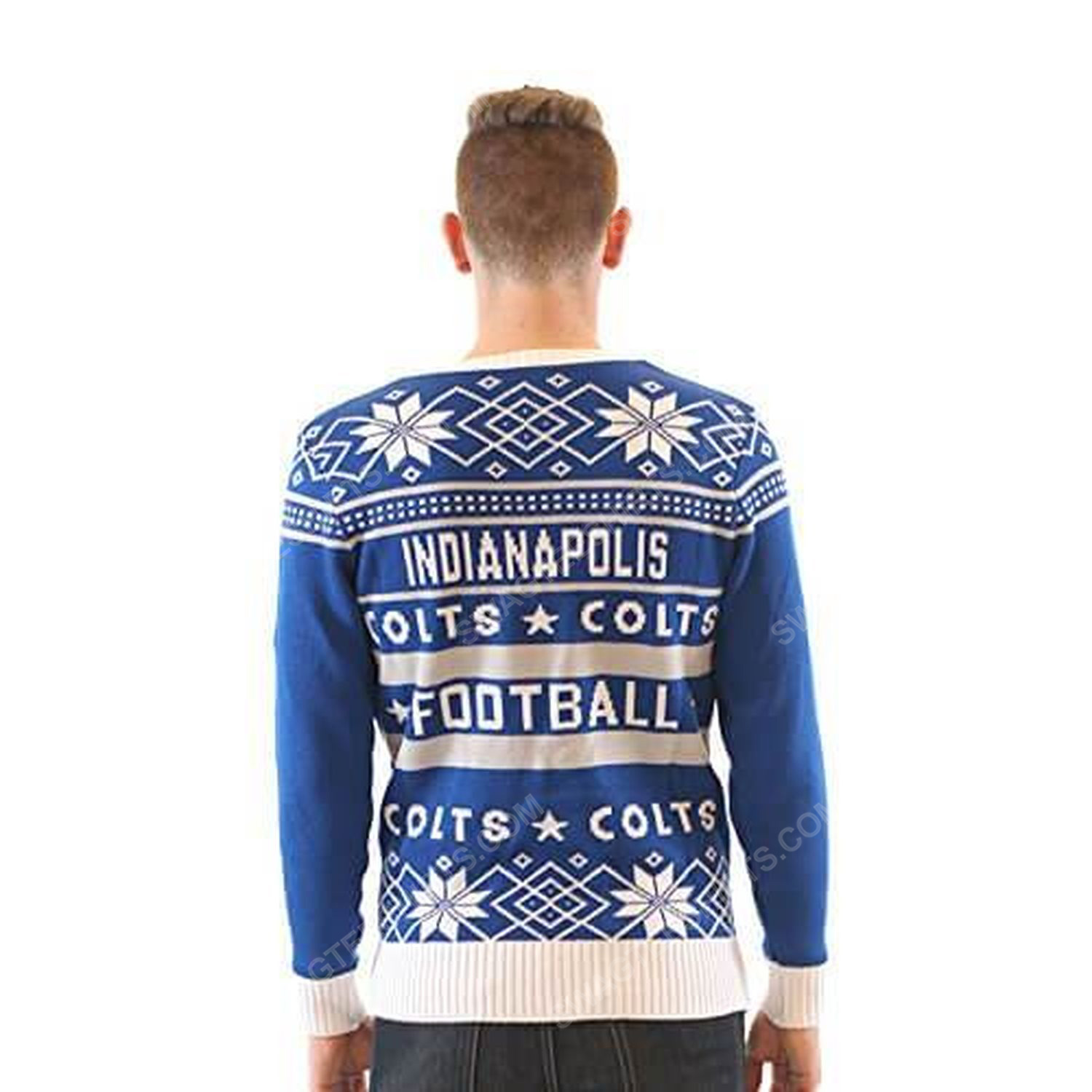 NFL indianapolis colts full print ugly christmas sweater 5