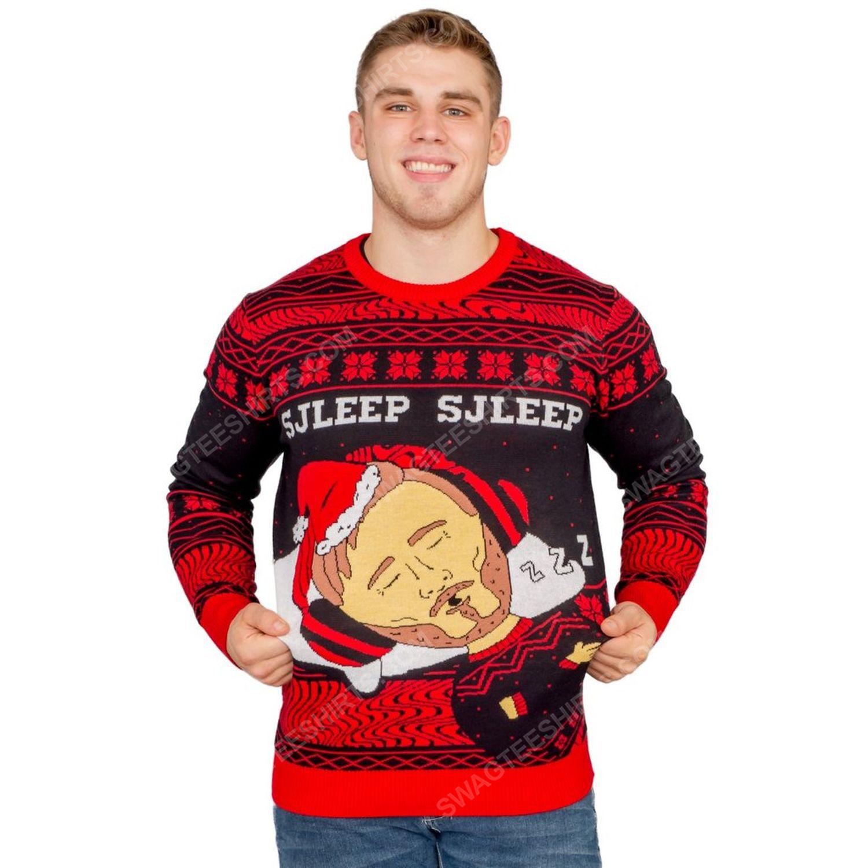 Pewdiepie sjleep sjleep full print ugly christmas sweater 2