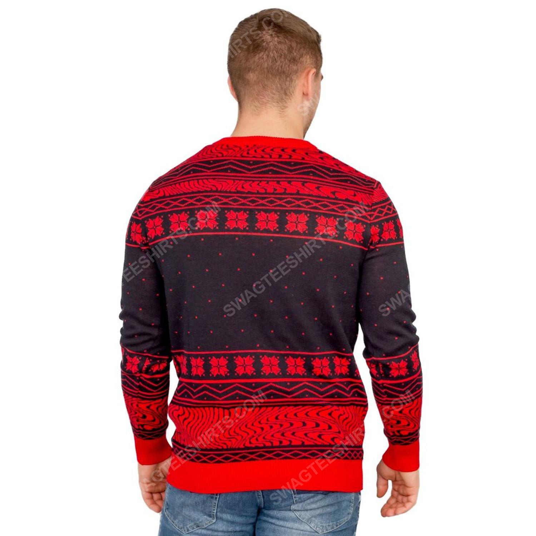 Pewdiepie sjleep sjleep full print ugly christmas sweater 5