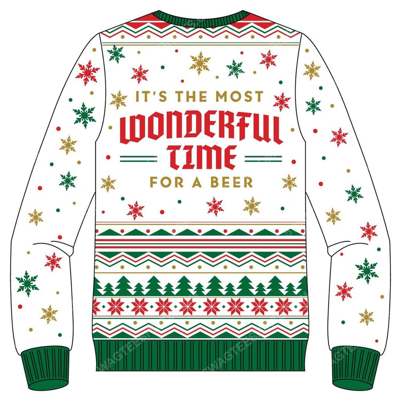 Shiner holiday cheer full print ugly christmas sweater 3