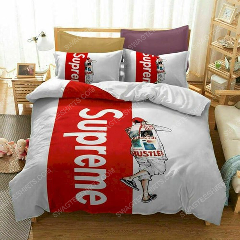 Supreme symbols full print duvet cover bedding set 3