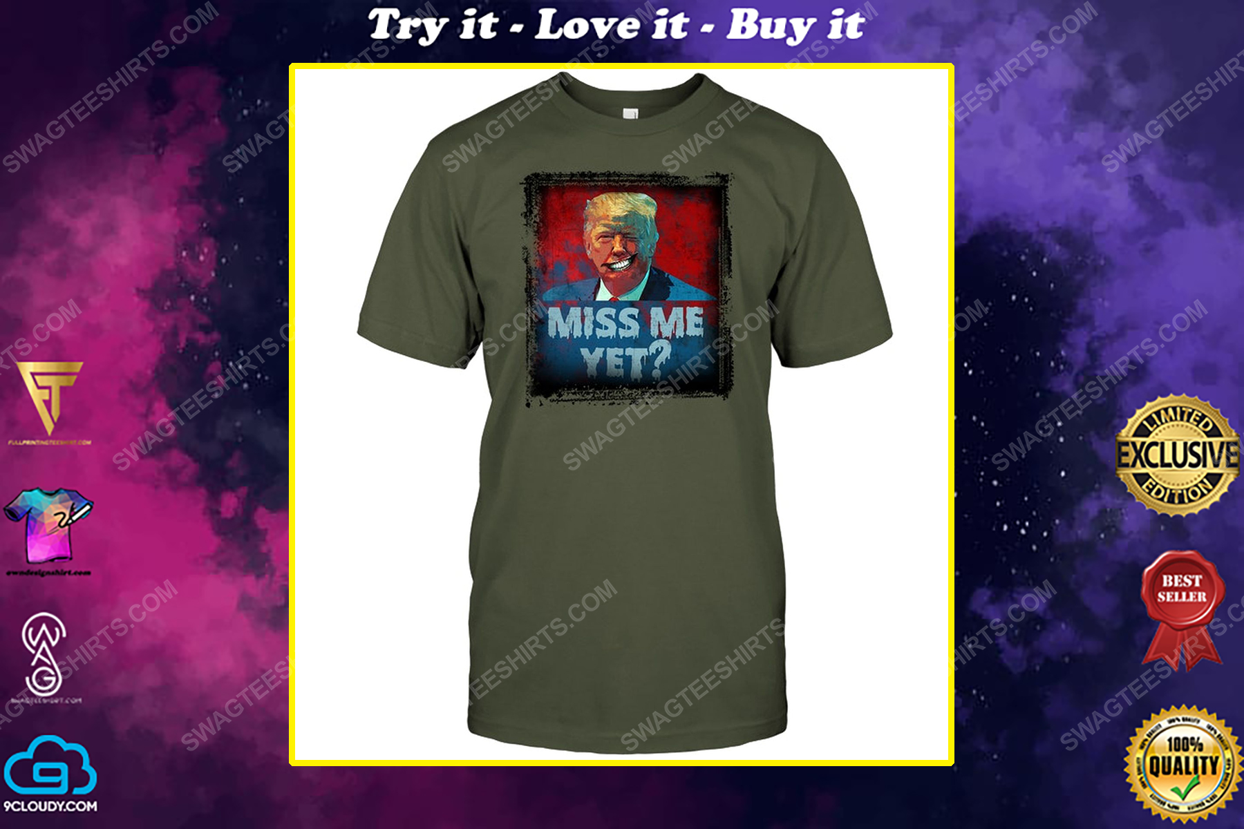 Trump miss me yet american horror story political shirt
