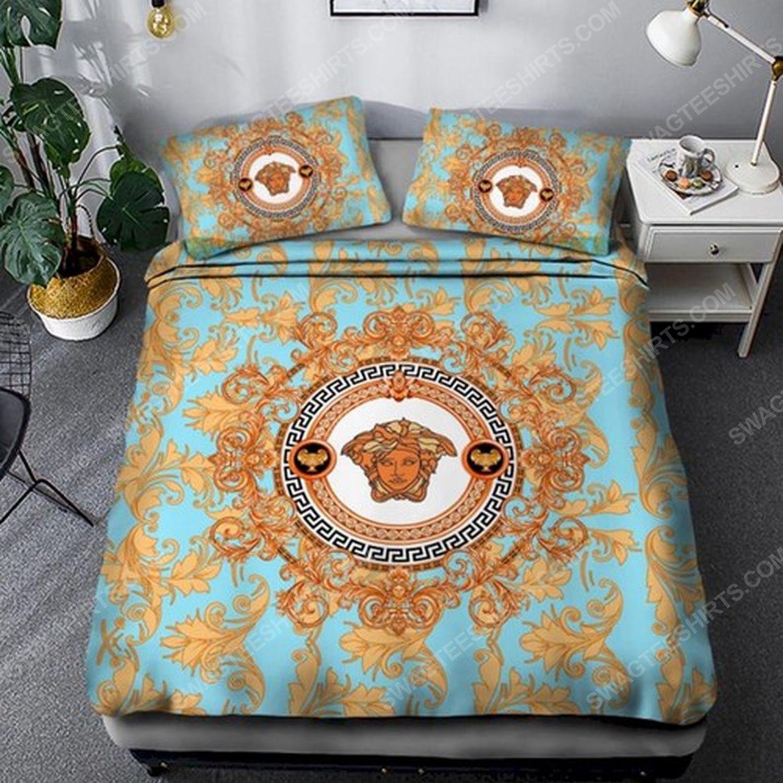 Versace clasic full print duvet cover bedding set 2 - Copy