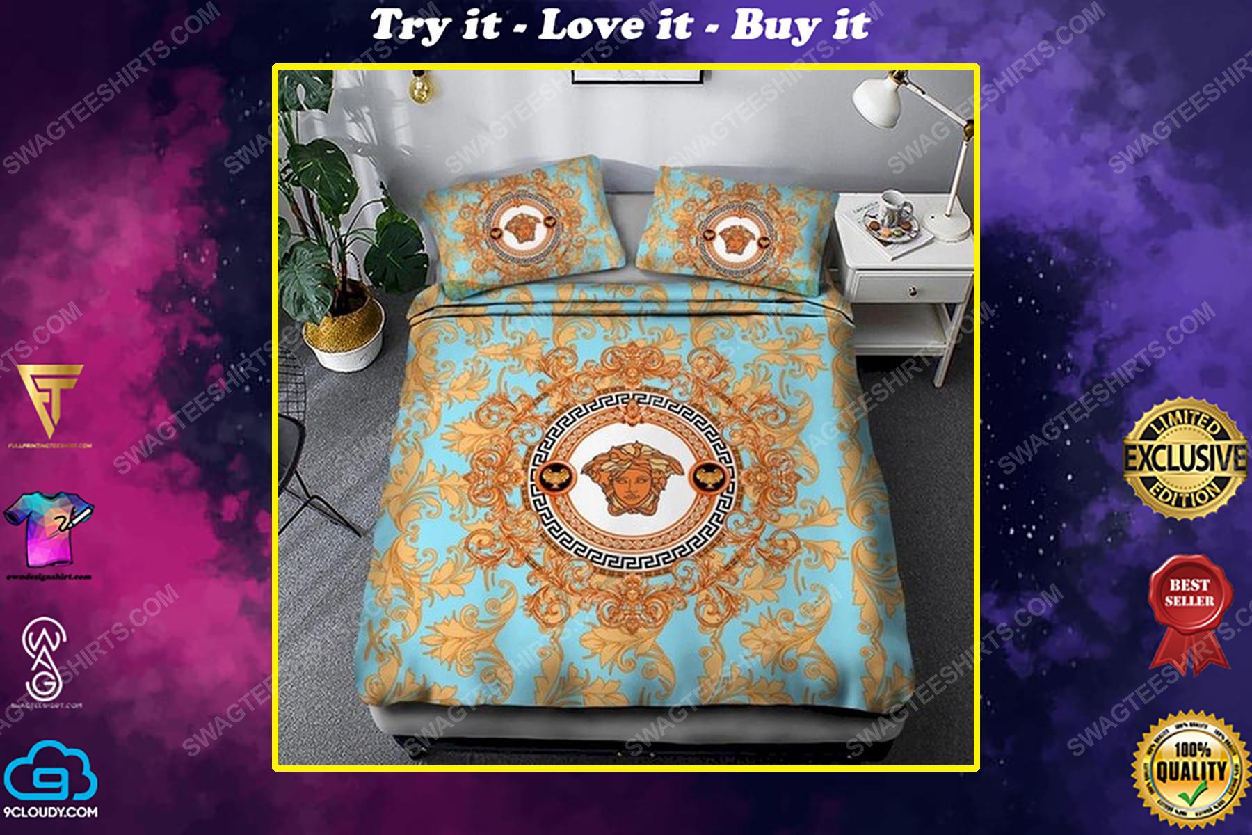 Versace clasic full print duvet cover bedding set
