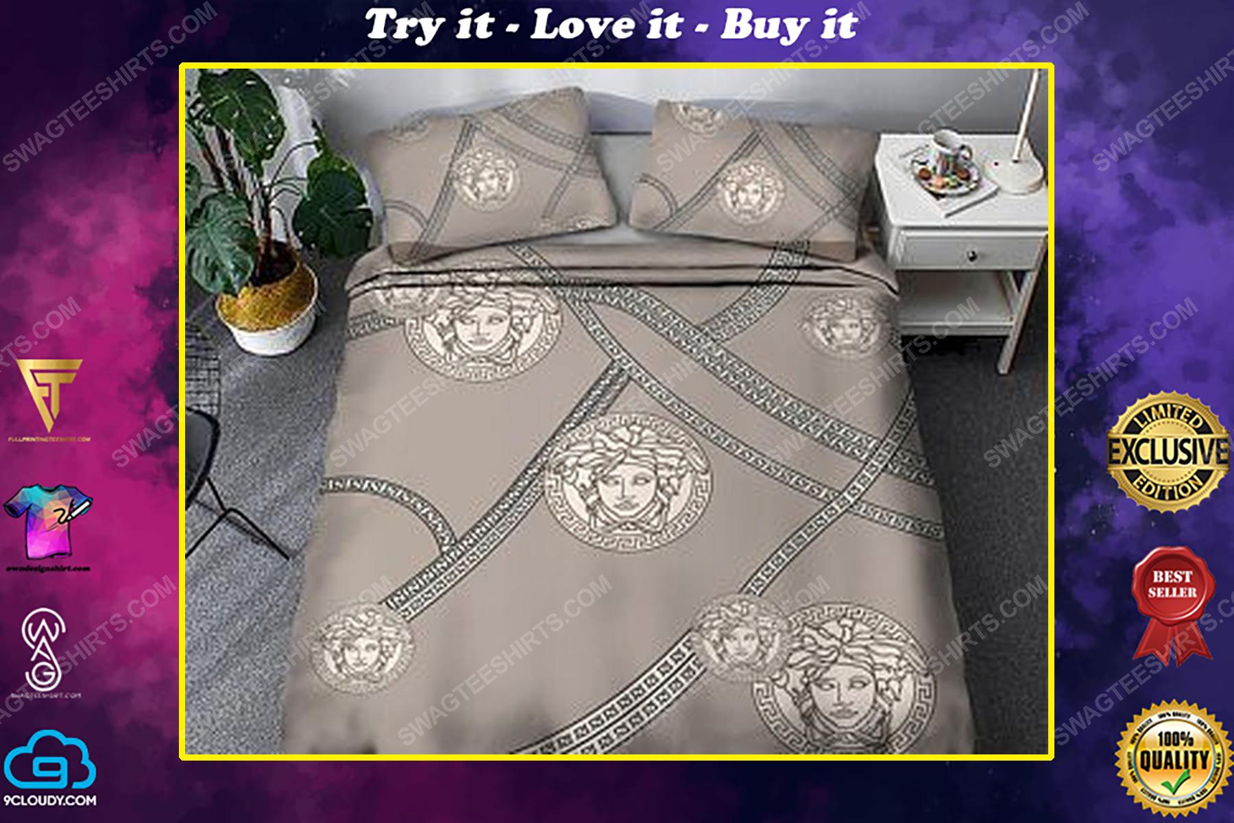 Versace luxury version full print duvet cover bedding set