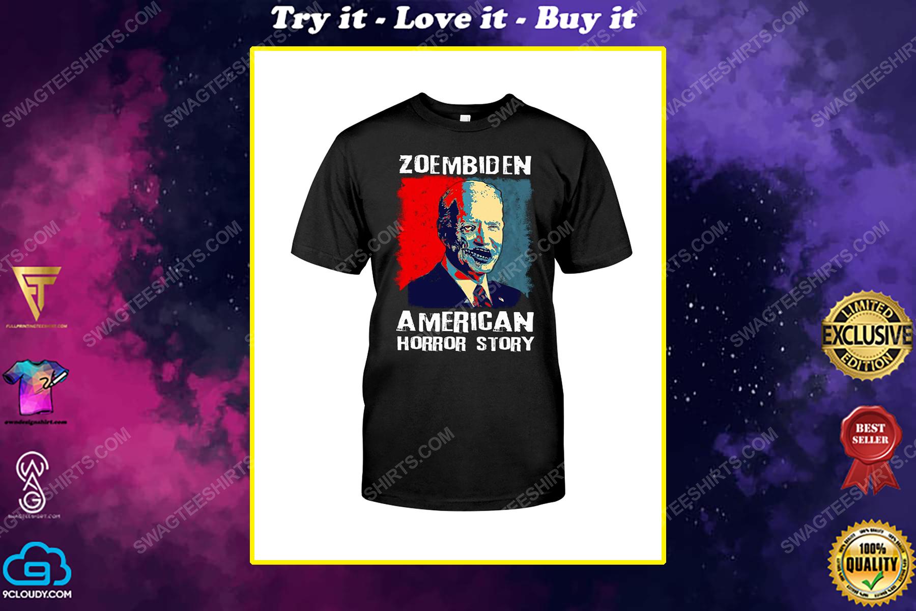 Zoembiden joe biden american horror story political shirt