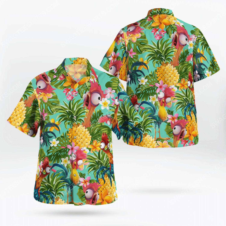 Hei hei chicken tropical hawaiian shirt 1 - Copy (2)