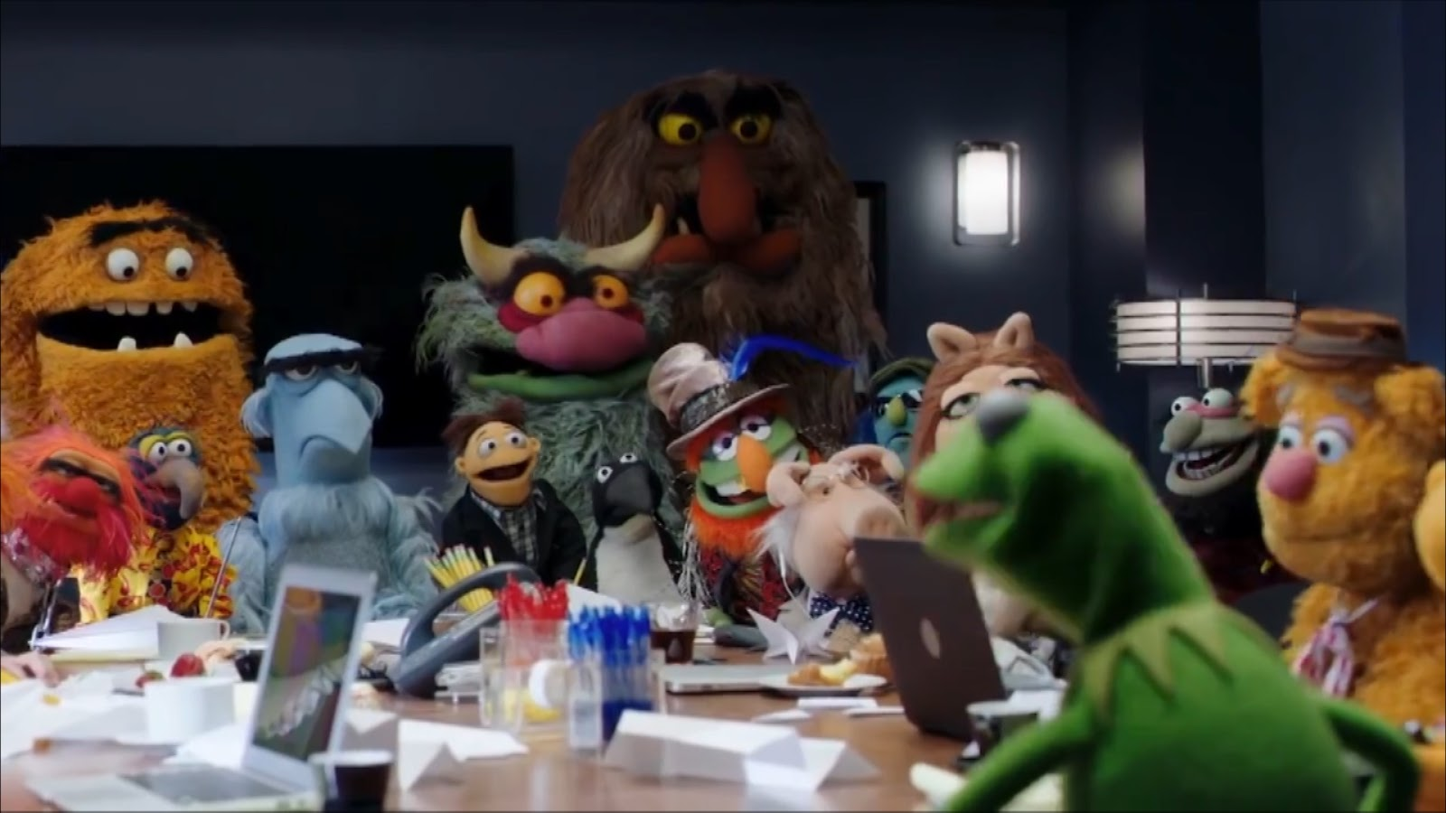 The Muppets children's entertainment or adult satire?