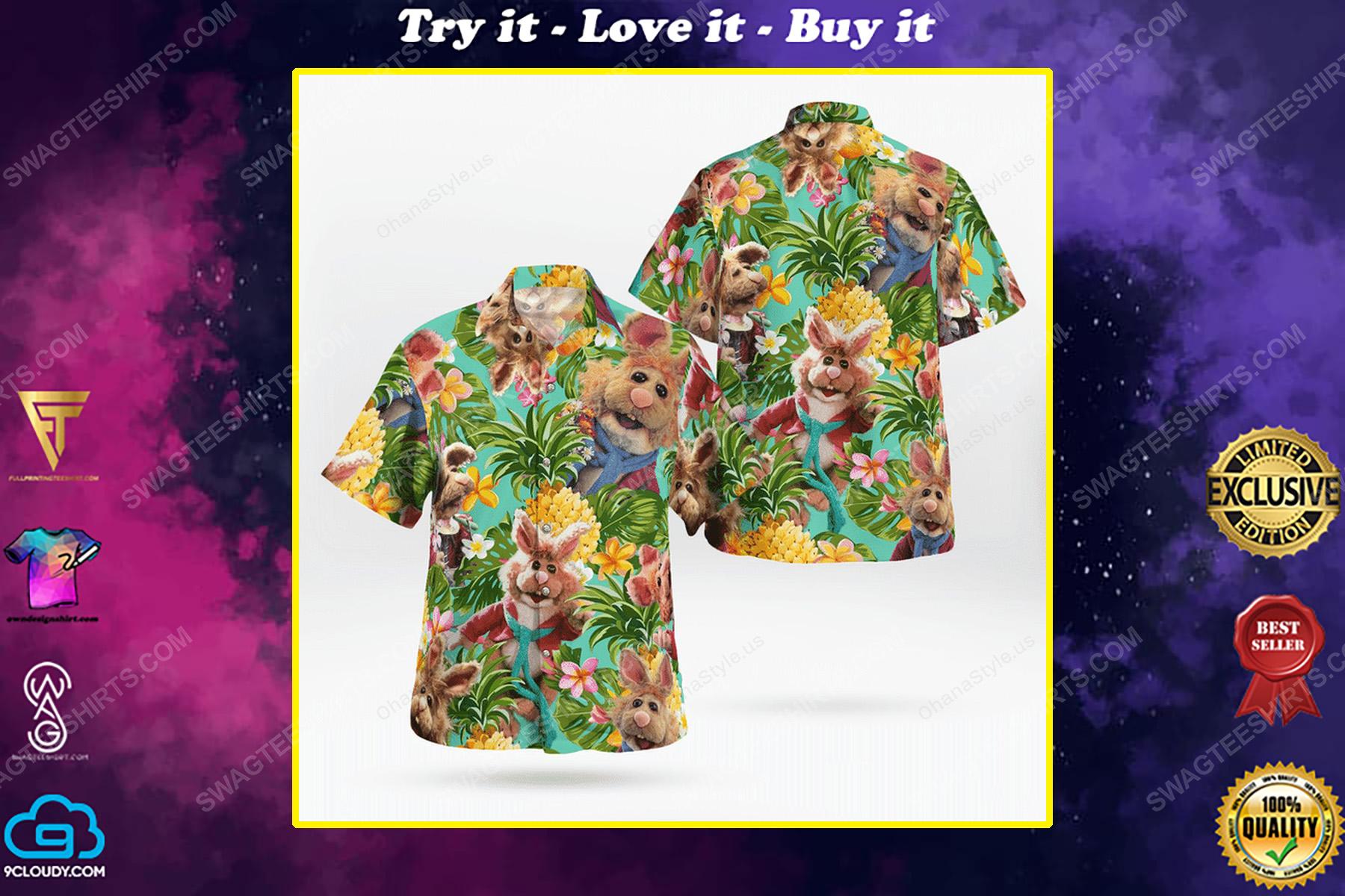 The muppet show bean bunny hawaiian shirt