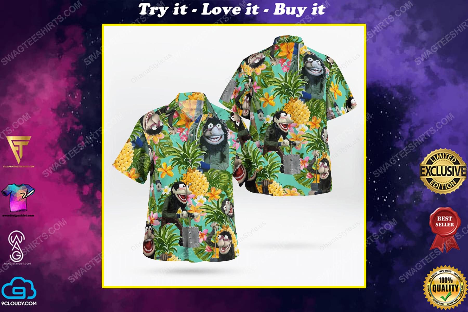 The muppet show crazy harry hawaiian shirt
